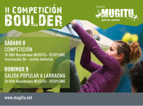 II Competicion Boulder (Estella - Lizarra)