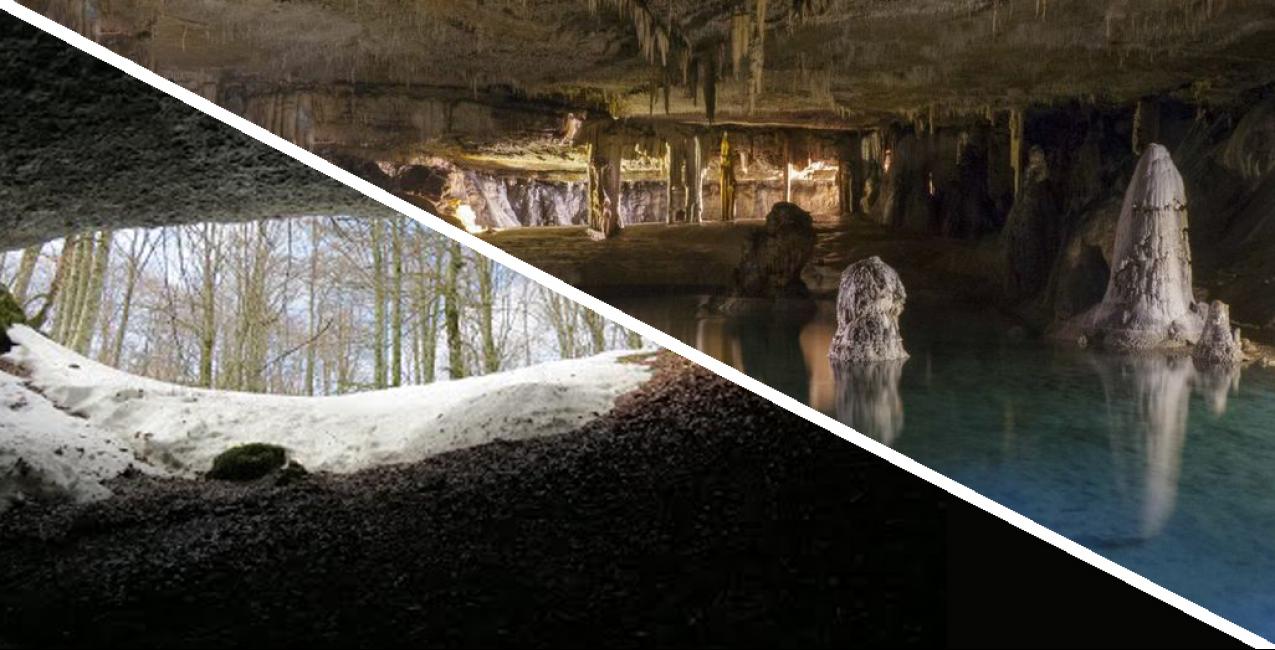 SALIDAS a las cuevas de los Cristinos y Noriturri ( Urbasa )