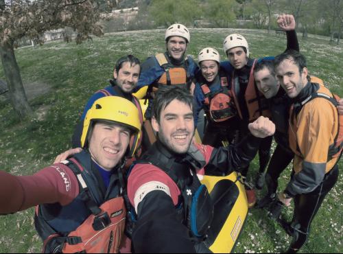 Rafting Lizarra -n, Nafarroa  (Urederra eta Ega)