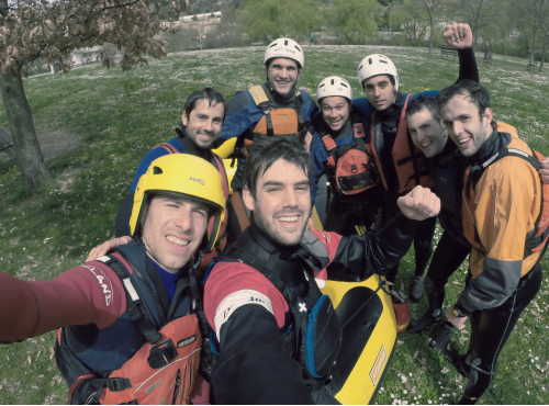 Rafting en Estella, Navarra (Urederra y Ega)